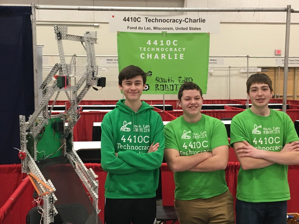 South Eden Robotics team places 4th at National Tournament, heads to World Championships!