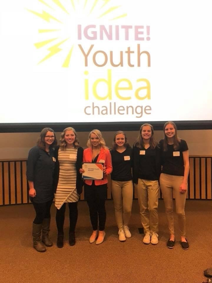CHS Junior Chloe Koth Takes Second at the 2018 IGNITE! youth Idea Challenge