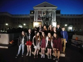 The High School Forensics Team Performs Well at State