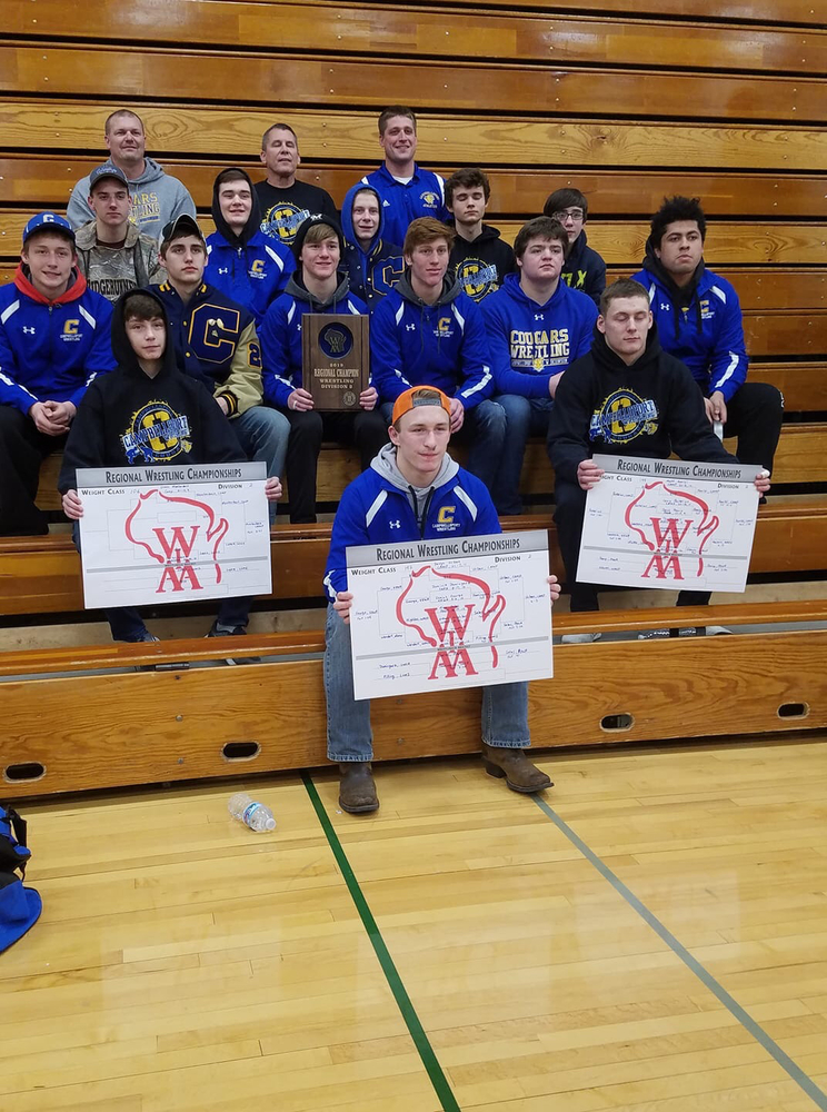 CHS Wrestling Wins Regionals