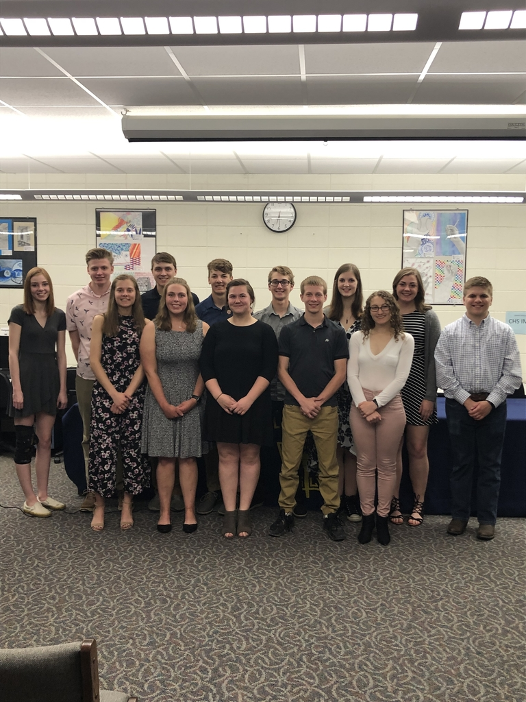 NHS 2019 Inductees