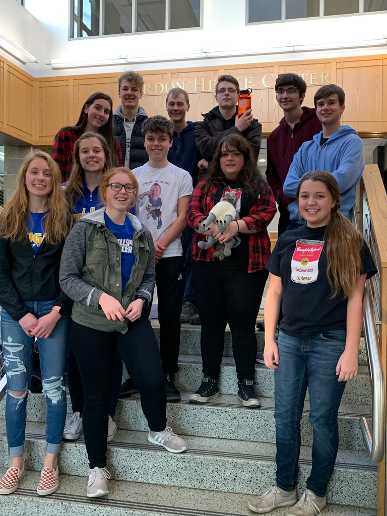 The Campbellsport High School Science Olympiad team competed at the Marquette University High School Invite. The team took 10th overall with Morgan Yahr and Riley Shurpit taking home 4th place in Anatomy and Riley Shurpit and Seth Krebs taking 3rd place in Chemistry Lab. We are so proud of the hard work this team as done so far!