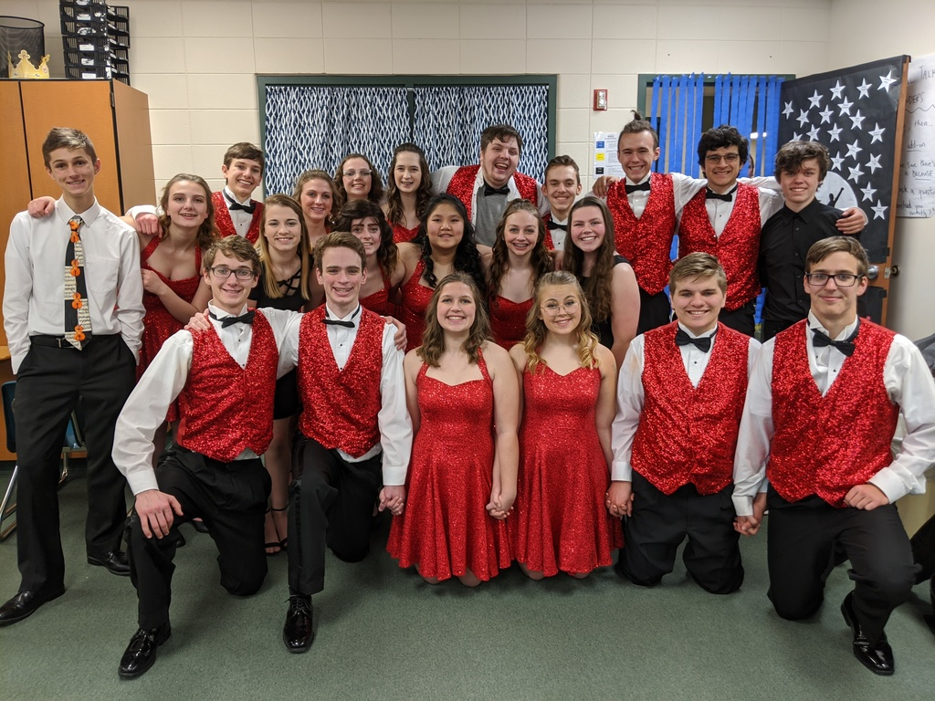 CHS Show Choir at the Fort Invitational