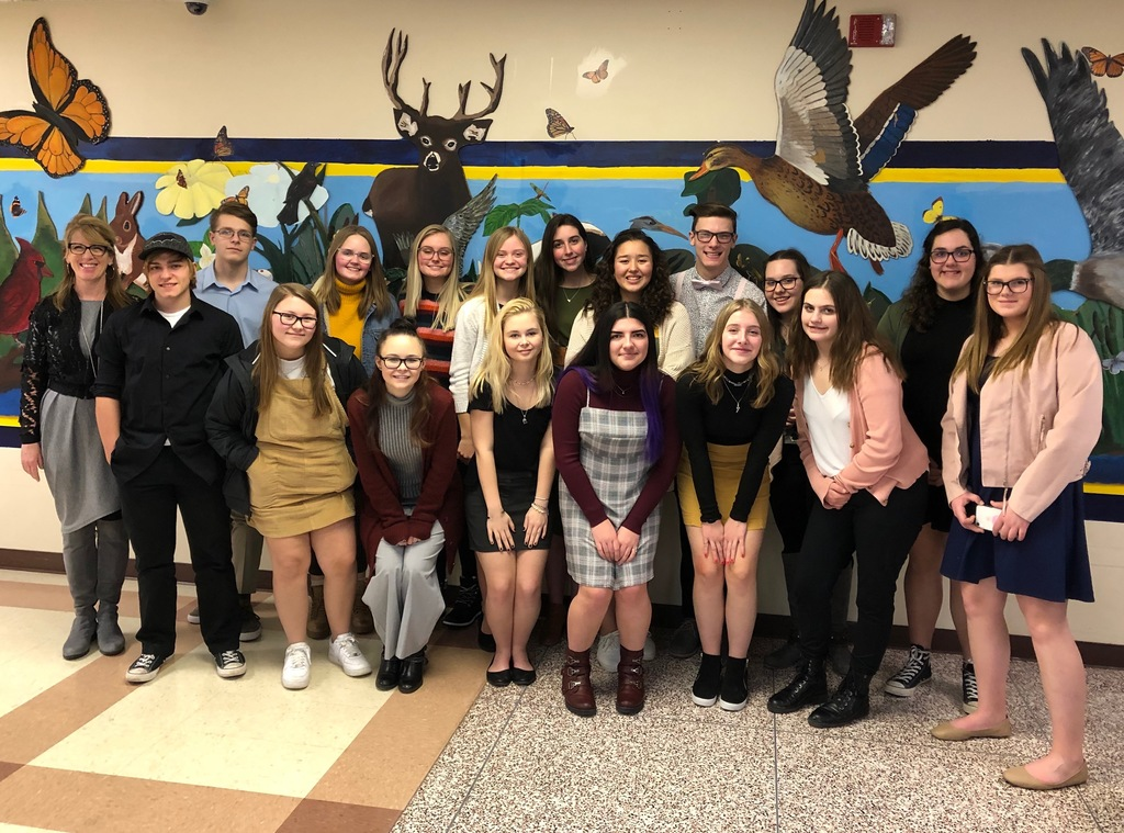 Campbellsport at the West Bend Forensics Tournament