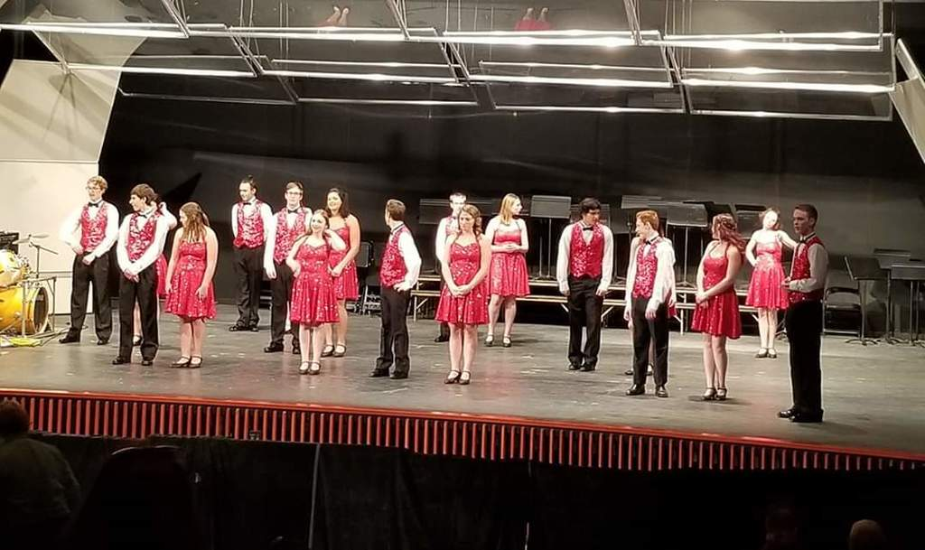 Show Choir at Solo & Ensemble