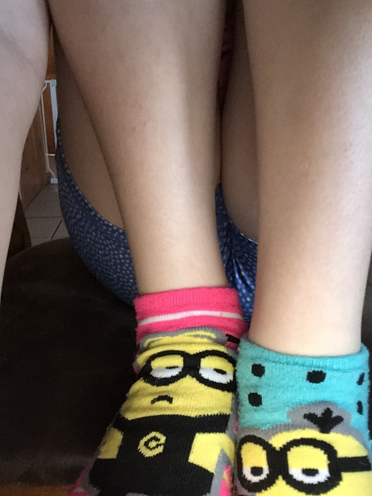 Love the crazy socks!