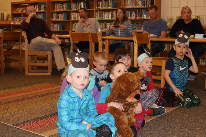 2018 Kindergarten Bear Night